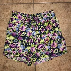 Nordstrom Happening in the Present Floral Shorts
